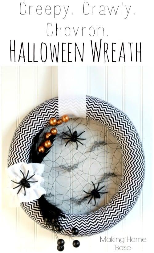 Homemade halloween decorations door decor for Home depot halloween decorations 2013