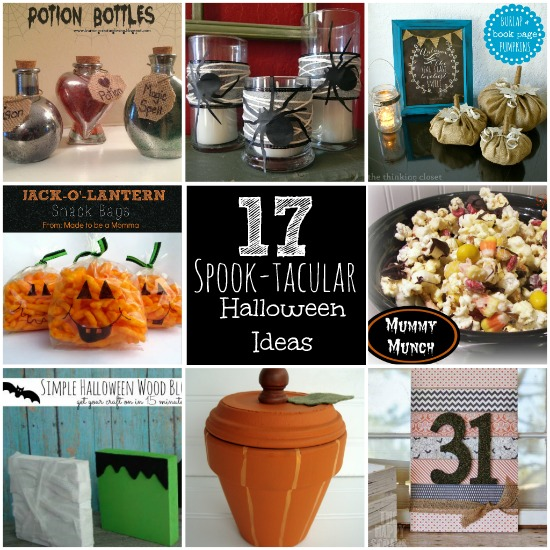 17 Spook-Tacular Halloween Ideas: Link Party Features