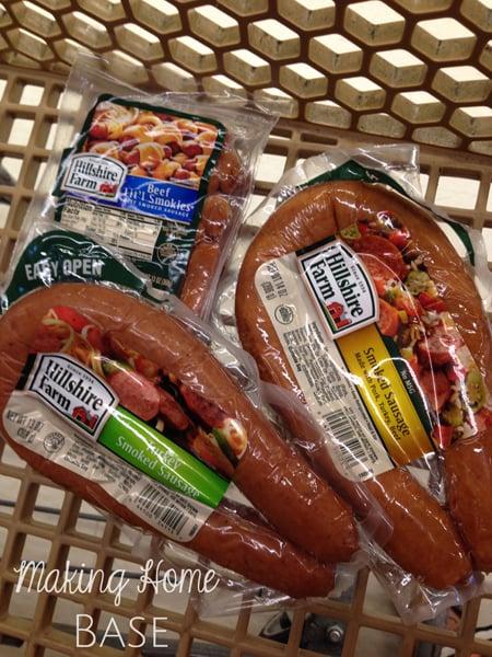 Cheesy Sausage and Potato Bake