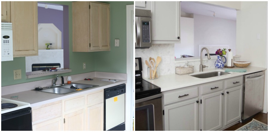 Kitchen Before and After Home Tour