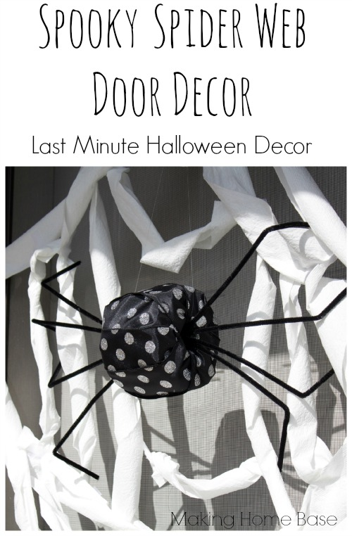 Last Minute Halloween Decor with Cottonelle
