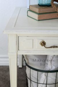 Thrift Store End Table Makeover