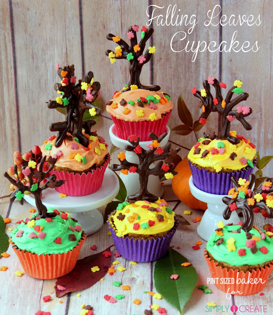 1 sc Fall Tree Cupcakes (40)