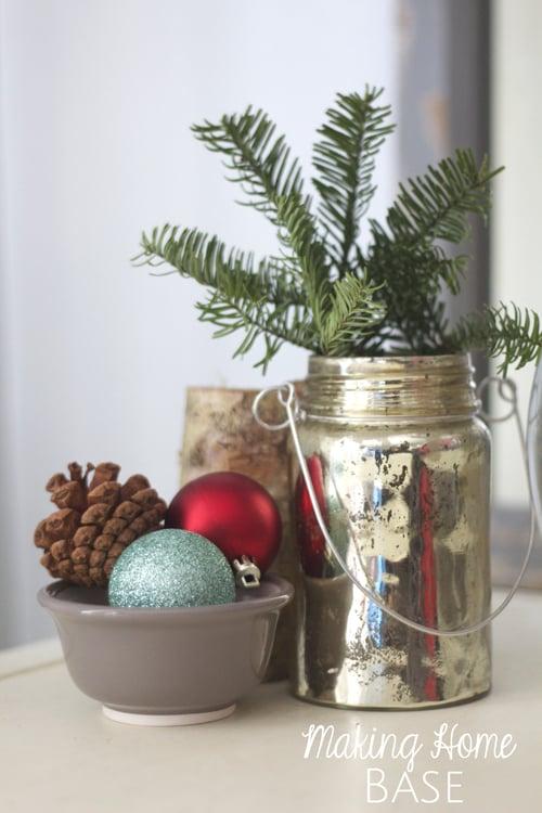 Christmas End Table