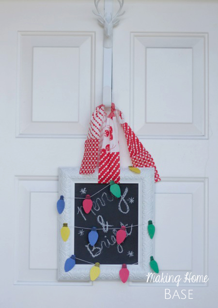Christmas Light Paper Garland copy