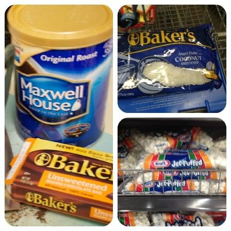 #kraftessentials #maxwellhouse coffee marshmallow brownies #shop