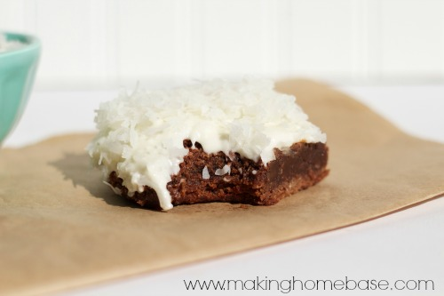 Holiday Desserts: Coconut Marshmallow Brownies