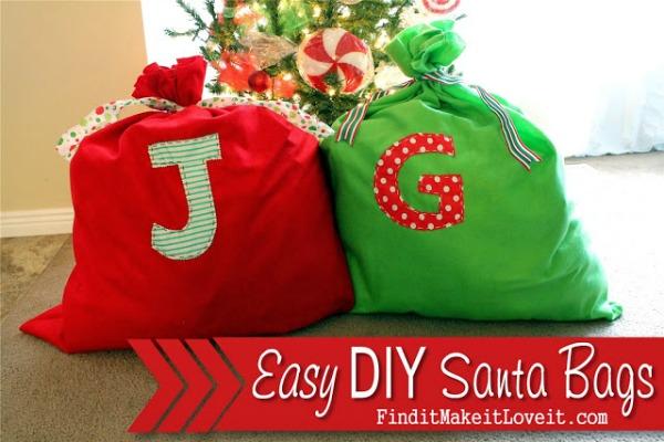 DIY Santa Bag (7)