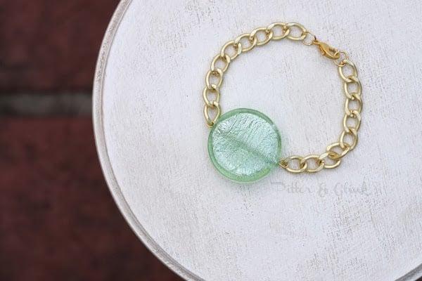 Green & Gold Bracelet whole