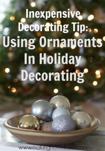 Using Ornaments to Decorate
