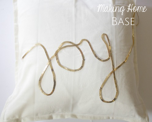 diy joy pillow tutorial