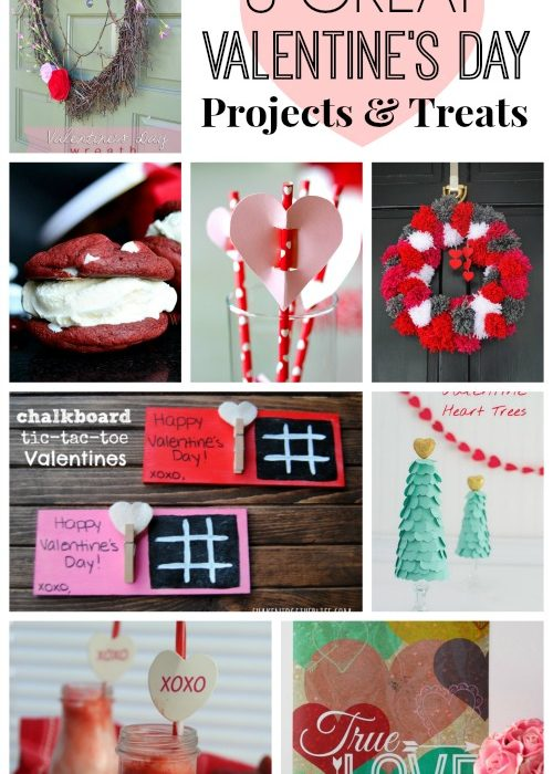 8 GREAT Valentine's Day Projects and Treats [The Creative Connection Features]