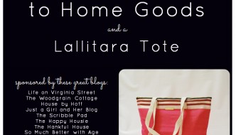 Home Goods Gift Card Giveaway!