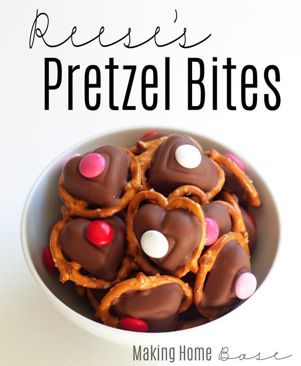 Reeses Pretzel Bites