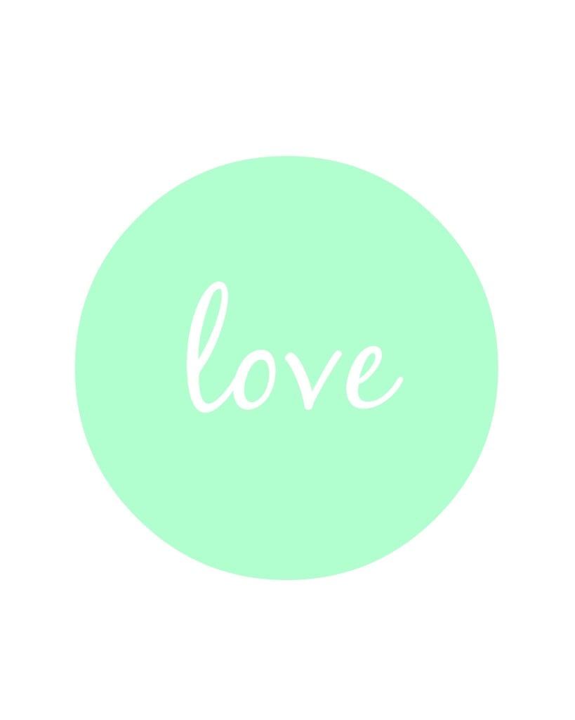 love printable 2