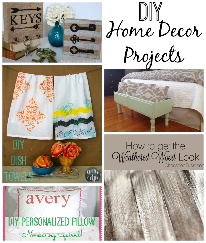 Diy home decor creative connection features making for Home decor crafts