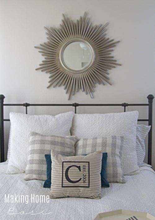 Mirror and Master Bedroom Decor