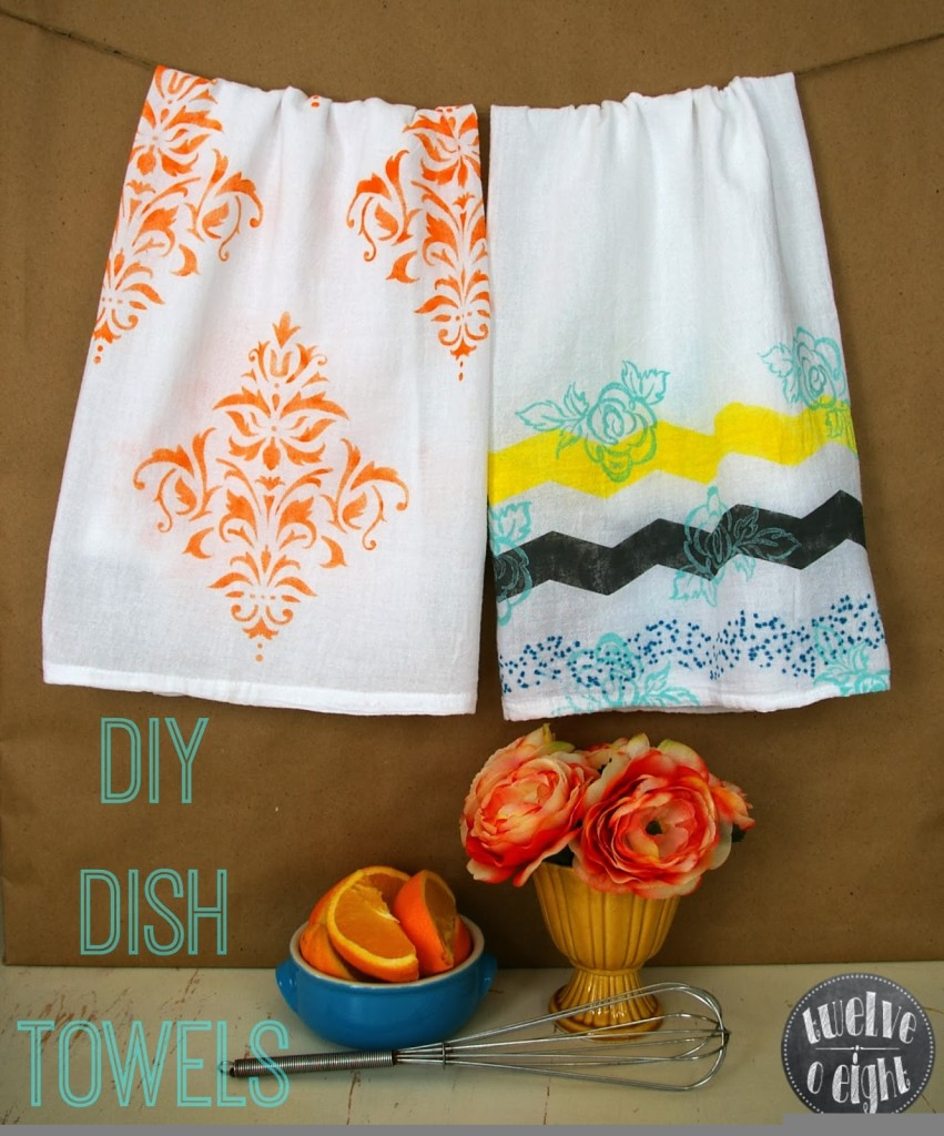 diy dish towel 2