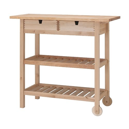 Kitchen Table And Chairs Homebase: IKEA Furniture: Customized Kitchen Cart