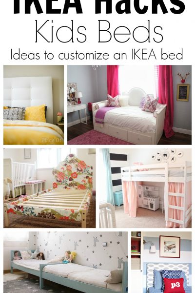 IKEA Hacks Ideas to Customize Kids' Beds