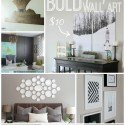 25+ DIY Wall Art Ideas via Making Home Base