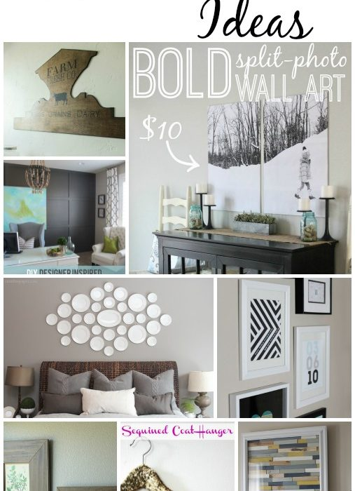 25+ DIY Wall Art Ideas