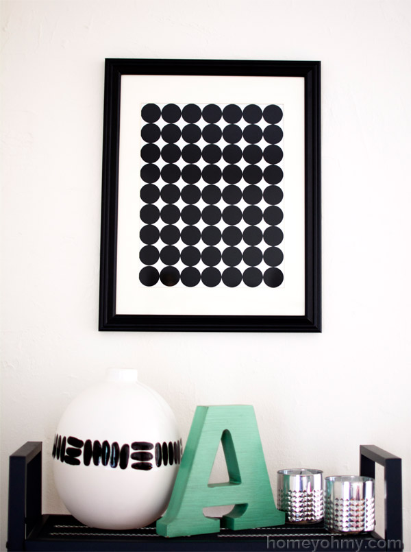 DIY-Graphic-Circle-Wall-Art