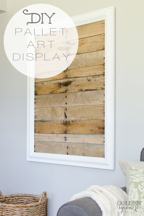 DIY-pallet-art-display