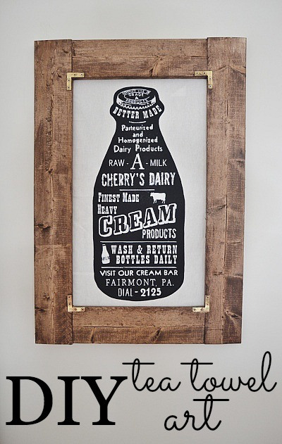 DIY-tea-towel-art