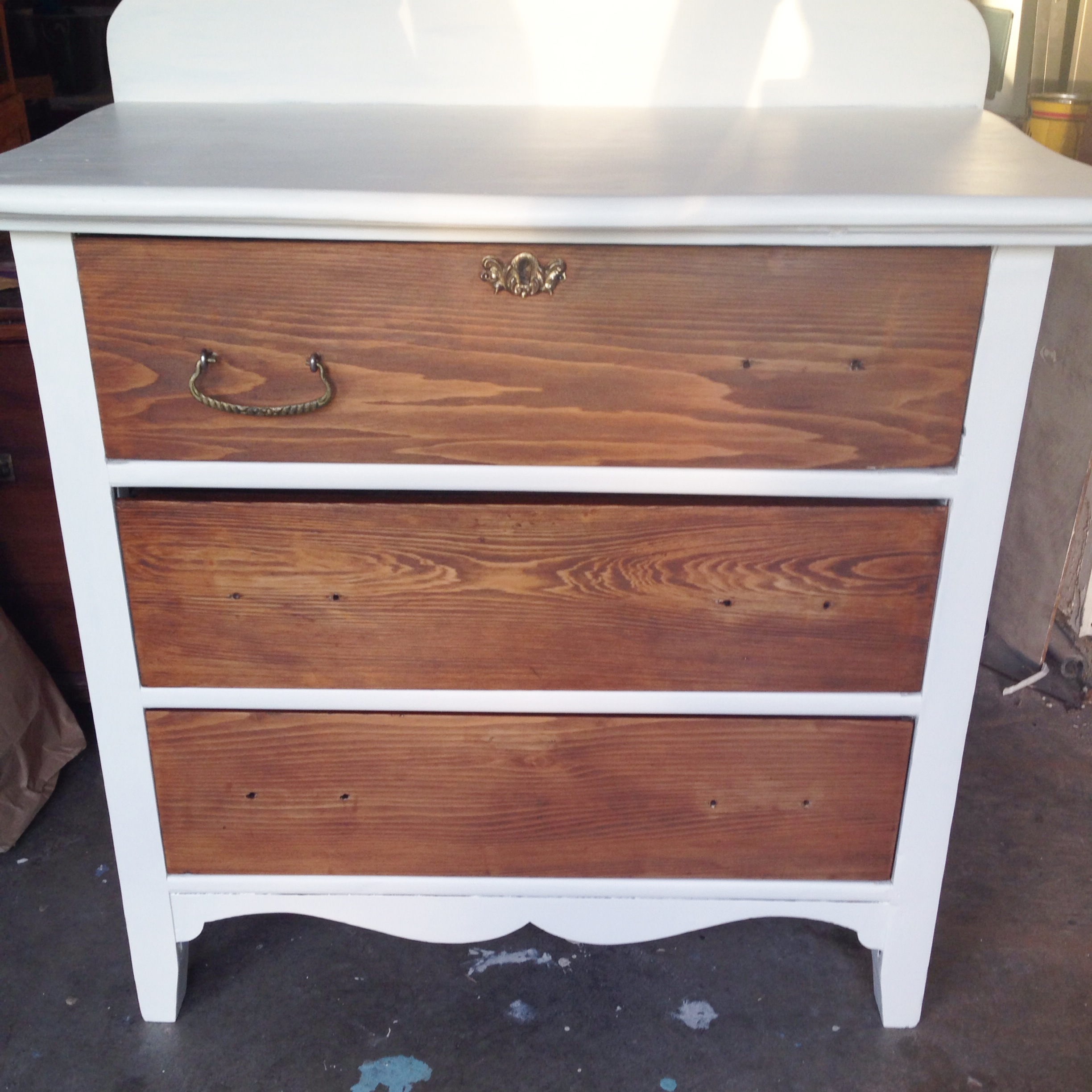 Two Toned Nightstand