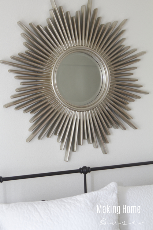 Sunburst Mirror Bedroom Decor