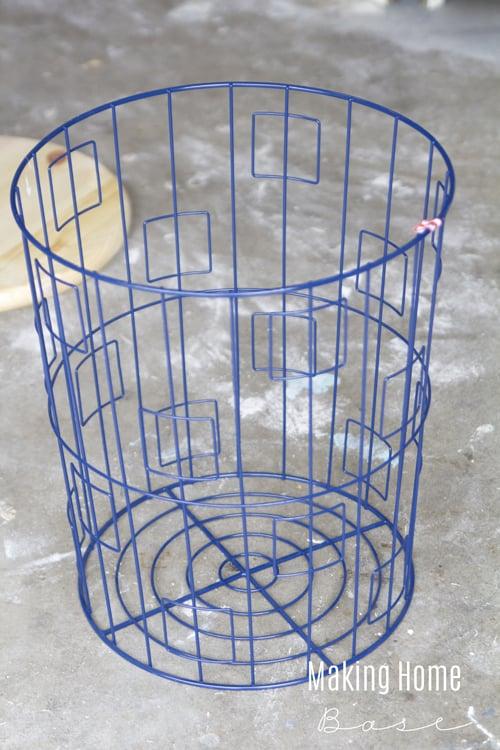 Target Laundry Basket Side Table