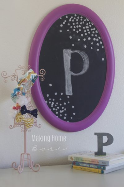 Trash to Treasure Radiant Orchid Chalkboard