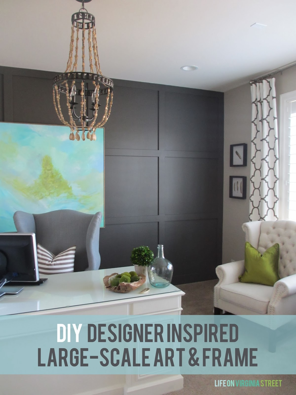 25 beautiful and inspiring diy wall art ideas Art for office walls
