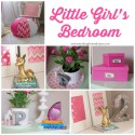 Little girl's bedroom with a complete source list