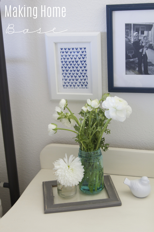 Spring Home Tour Fresh Flowers
