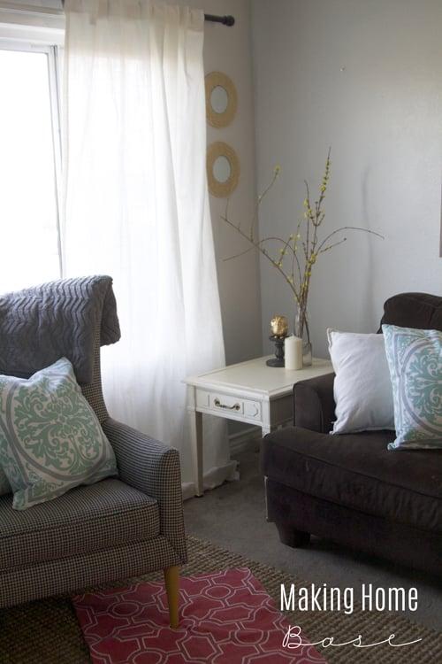 Spring Home Tour Living Space