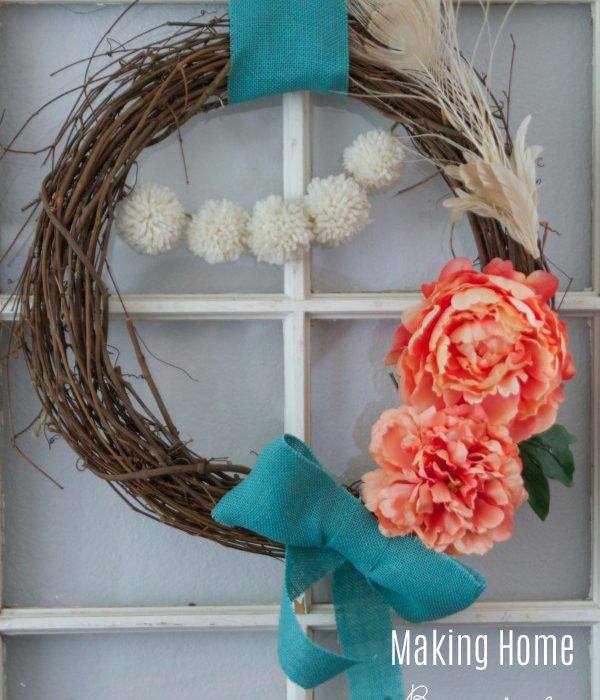 Spring Wreath and More Spring Decor Ideas