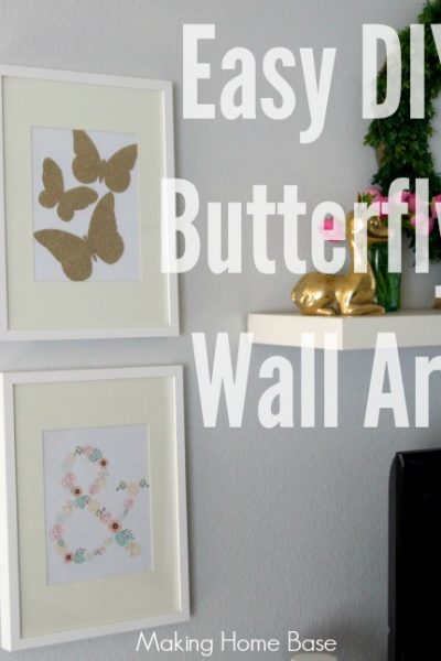 Easy DIY Wall Art for Spring