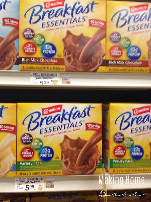 Breakfast Essentials Banana Mocha Smoothie