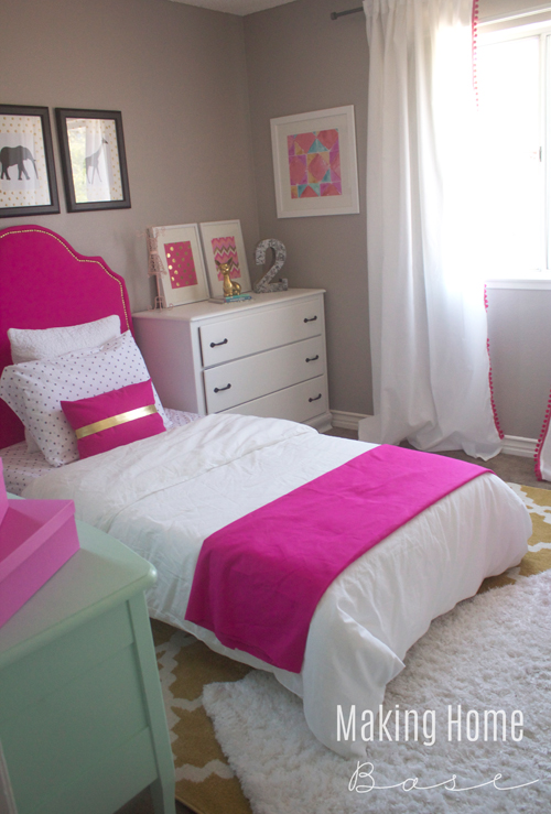 Decorating a small bedroom for a little girl for Small bedroom ideas pinterest