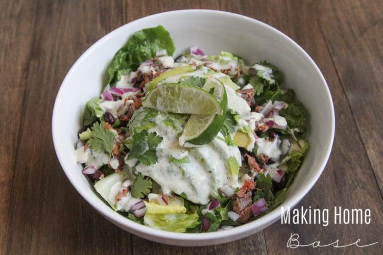 Fresh and Easy Steak Salad-1-2