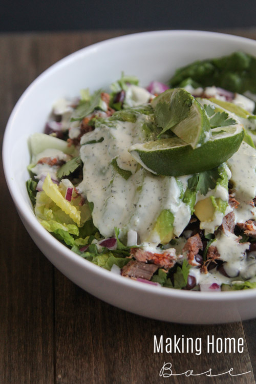 Fresh and Easy Steak Salad-1