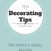 Ten Tips to Spruce Up Your Rental Home