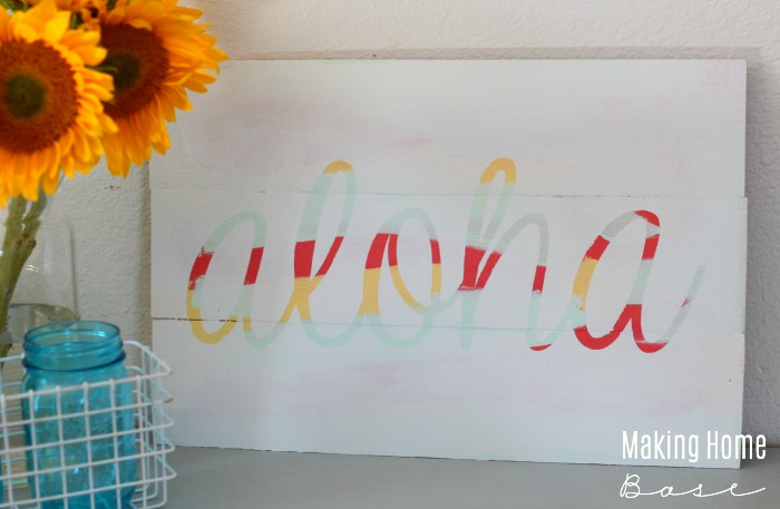 DIY Painted Sign