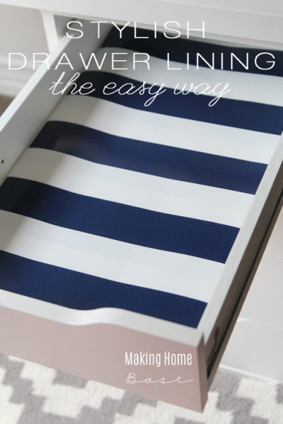 How to Make Drawer Liners Stylish
