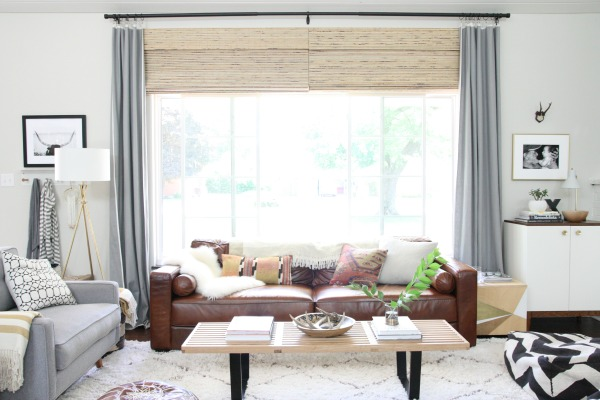 Decorating, Living With, And Loving, A Brown Sofa Amazing Design