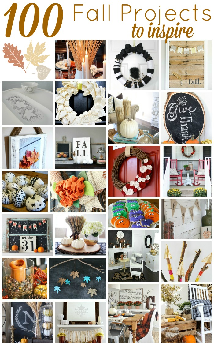 100 FALL Project Ideas - www.makinghomebase.com