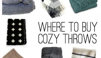 Where To Buy Cozy Throw Blankets