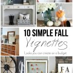 10 Easy Fall Vignettes
